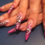Pink&Black Stiletto 3